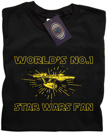 Worlds No.1 Star Wars Fan T Shirt