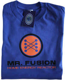 Mr Fusion T Shirt (Blue)