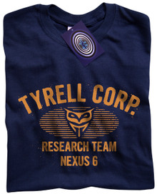 Tyrell Corp Nexus 6 (Blue) T Shirt