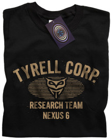 Tyrell Corp Nexus 6 (Black) T Shirt