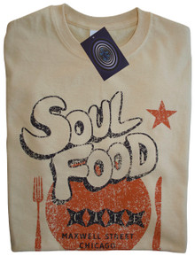 Soul Food Cafe T Shirt (Vegas Gold)