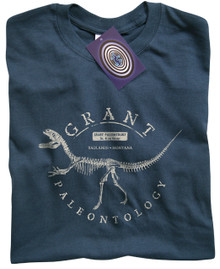 Grant Paleontology T Shirt (Blue)