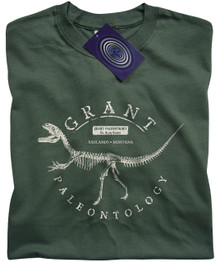 Grant Paleontology T Shirt (Green)