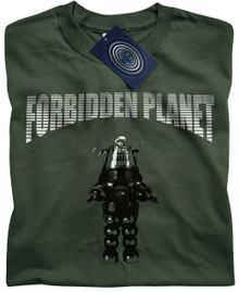 Forbidden Planet (Green) T Shirt