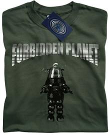 Forbidden Planet (Green) T Shirt