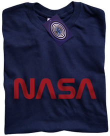 NASA T Shirt (Navy Blue)