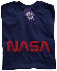 NASA T Shirt (Navy Blue)