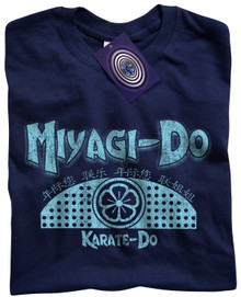 Miyagi Do Karate T Shirt (Blue)