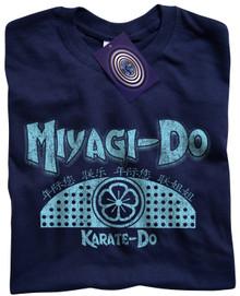 Miyagi Do Karate T Shirt (Blue)