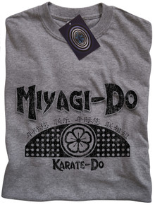 Miyagi Do Karate T Shirt (Grey)