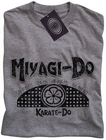 Miyagi Do Karate T Shirt (Grey)