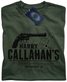 Harry Callahan T Shirt (Green)