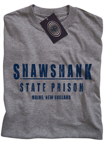 Shawshank State Prison T Shirt (Grey)