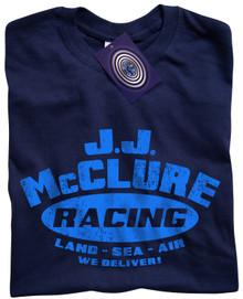 J J McClure T Shirt (Navy)