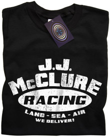 J J McClure T Shirt (Black)
