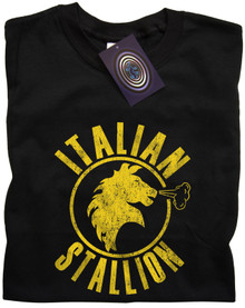Italian Stallion T Shirt (Black)