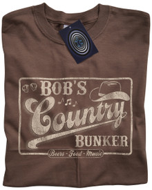 Bob's Country Bunker T Shirt (Light Brown)