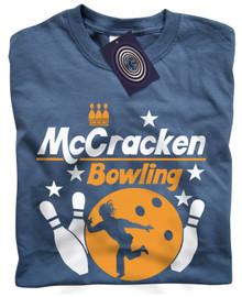 McCracken Bowling T Shirt (Blue)