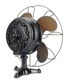 Amazing 100% All Original 1900 Emerson Tripod Desk Fan