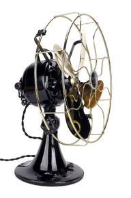 "1923 12"" Emerson Type 28046 DC Desk Fan Restored"