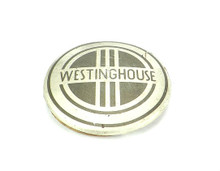"Original 1937 Westinghouse Power Aire ""Darth Vader"" Cage/Guard Badge"
