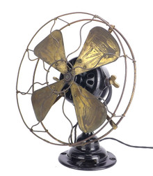 "Original 1912 Emerson Trojan 53646 12"" Desk Fan"