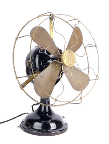 "Early Original GE BMY 12"" Desk Fan"