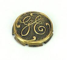 Original GE Thick Script Logo Cage/Guard Badge