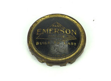Original Emerson Brass Cage/Guard Badge Pyramid Brass