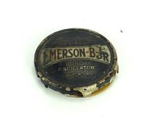 "Original Emerson B-JR 10"" Oscillator Cage/Guard Badge"