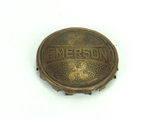 Original Emerson Brass Cage/Badge Double Parker