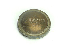 Original Emerson Bronze Pyramid Cage/Guard Badge