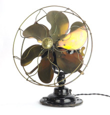 "1914 12"" Emerson Type 19666 Desk Fan"