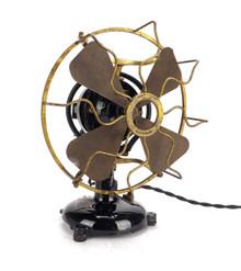 "Circa 1913 8"" Menominee Tab Base Staghorn Oscillator"