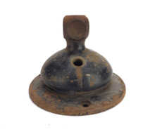 "Original Iron Base for 12"" Jandus Wire Mount"
