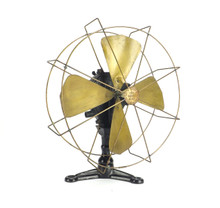 """1890's """"The Beebe MFG Co."""" Columbus Oh. Wall Mounted Water Fan Museum Deacquisition"""