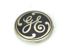 Original GE Aluminum Cage/Guard Badge For 78x233