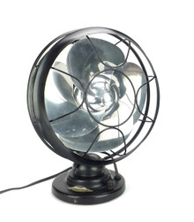 "10"" Emerson Silver Swan Desk Fan"