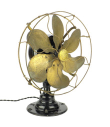 """A True Survivor"" 100% Original Condition Emerson 16666 Desk Fan"