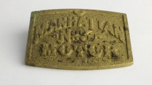 Recast Manhattan No 3 Motor Tag
