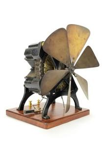 Circa 1888 Edison X Motor Fan