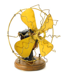 "1900 The Portable Battery Fan Co. 9"" Bipolar"