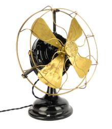 """1906 12"""" GE Pancake Desk Fan"""