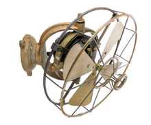 "1910 ""Gimbled"" J.B.Ry No. 2 Wall Mounted Fan Ship"