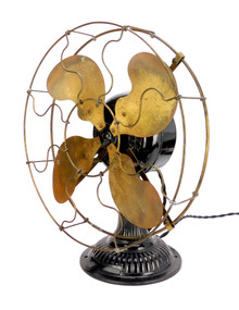 """Original 1900 Emerson PI241 12"""" Desk Fan"""