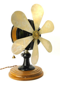 "Very Rare Froment Principle 12"" Desk Fan"