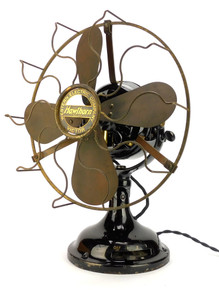 "Original 12"" Western Electric Hawthorn Sidewinder Desk Fan"