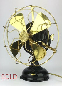 1905 Restored General Electric Pancake Fan