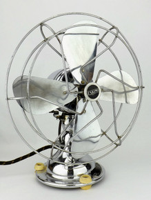 "All Chrome 10"" Eskimo Oscillating Fan"