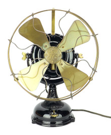 Restored 1904 General Electric GE Pancake Fan